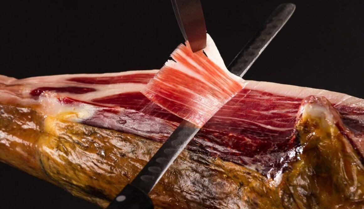 como se corta el jamon iberico (foto)